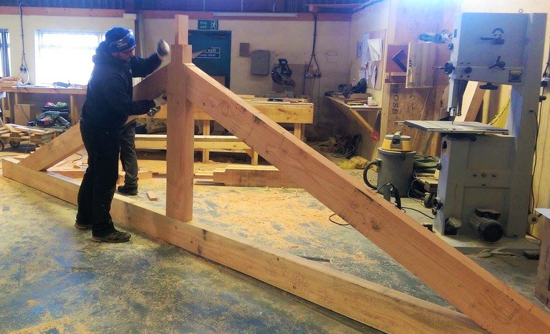 Benfield ATT carpenters know how to knock wood into shape