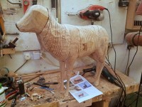 OneOak deer takes shape