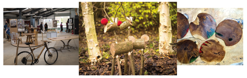 Christmas artsweekend at the Sylva Wood Centre