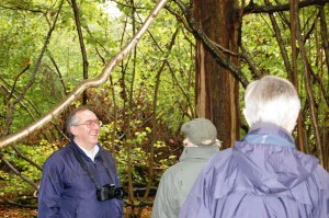 Matthew Woodcock from Forestry Commission England south-east region was one of the speakers