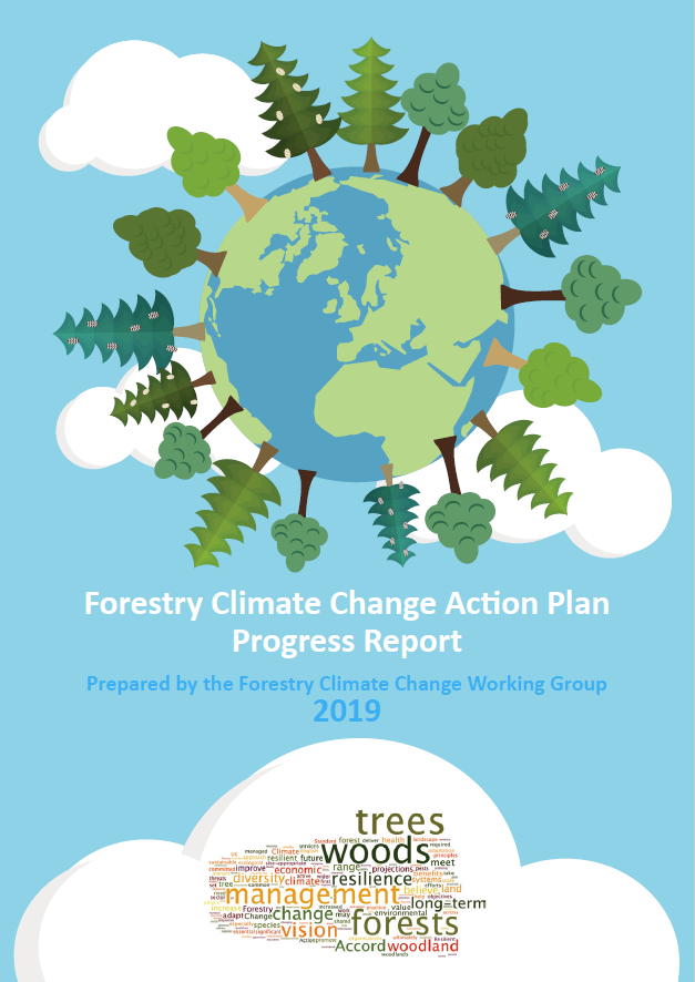 Forestry Climate Change Action Plan progress report 2019