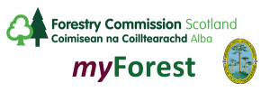 Forestry Commission Scotland, Royal Scottish Forestry Society, and Sylva Foundation's myForest service