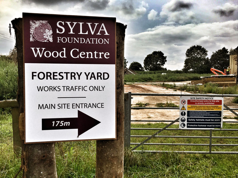 Forestry Yard, Sylva Wood Centre
