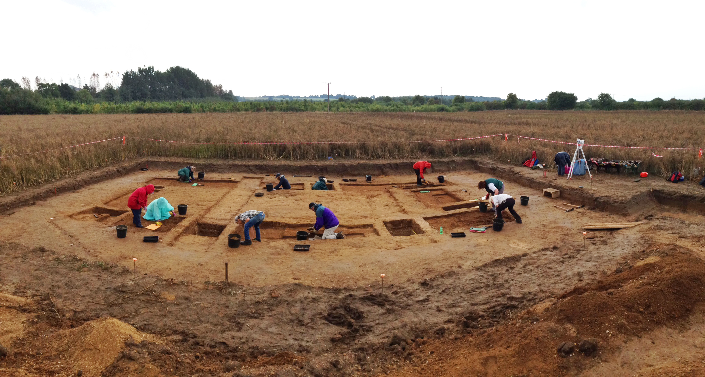 Archaeological excavations at Sylva Wood Centre September 2016