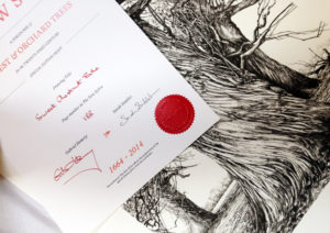 Print and certificate from The New Sylva single-edition offer