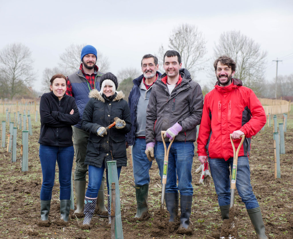 Woodworking Masterclass Planting Team, February 2017