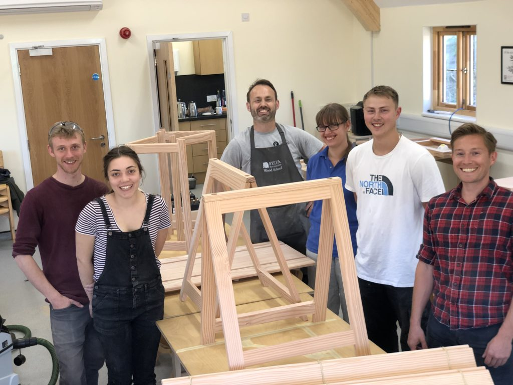 Summer School 2019 group with Tutor Joseph Bray