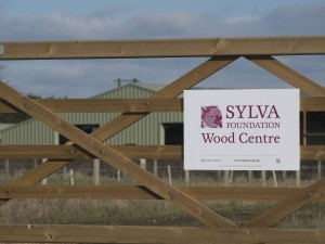 Sylva Wood Centre from west gate