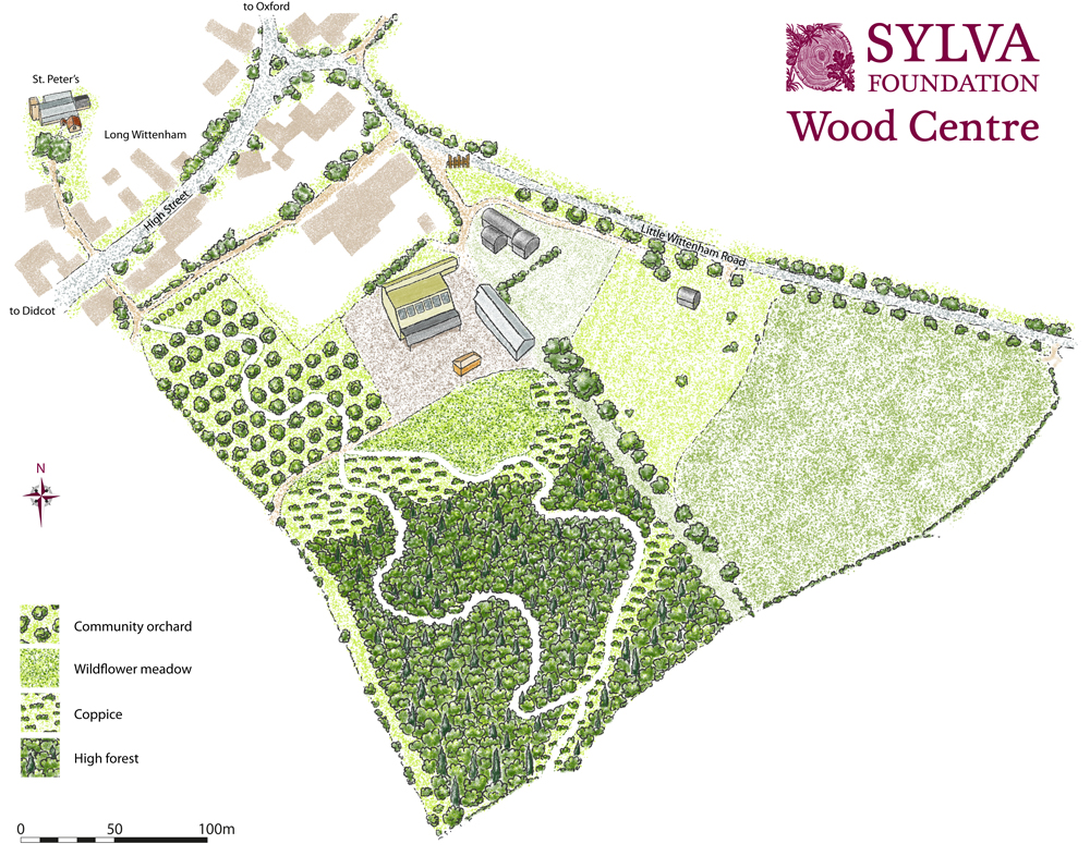Future Forest at the Sylva Wood Centre