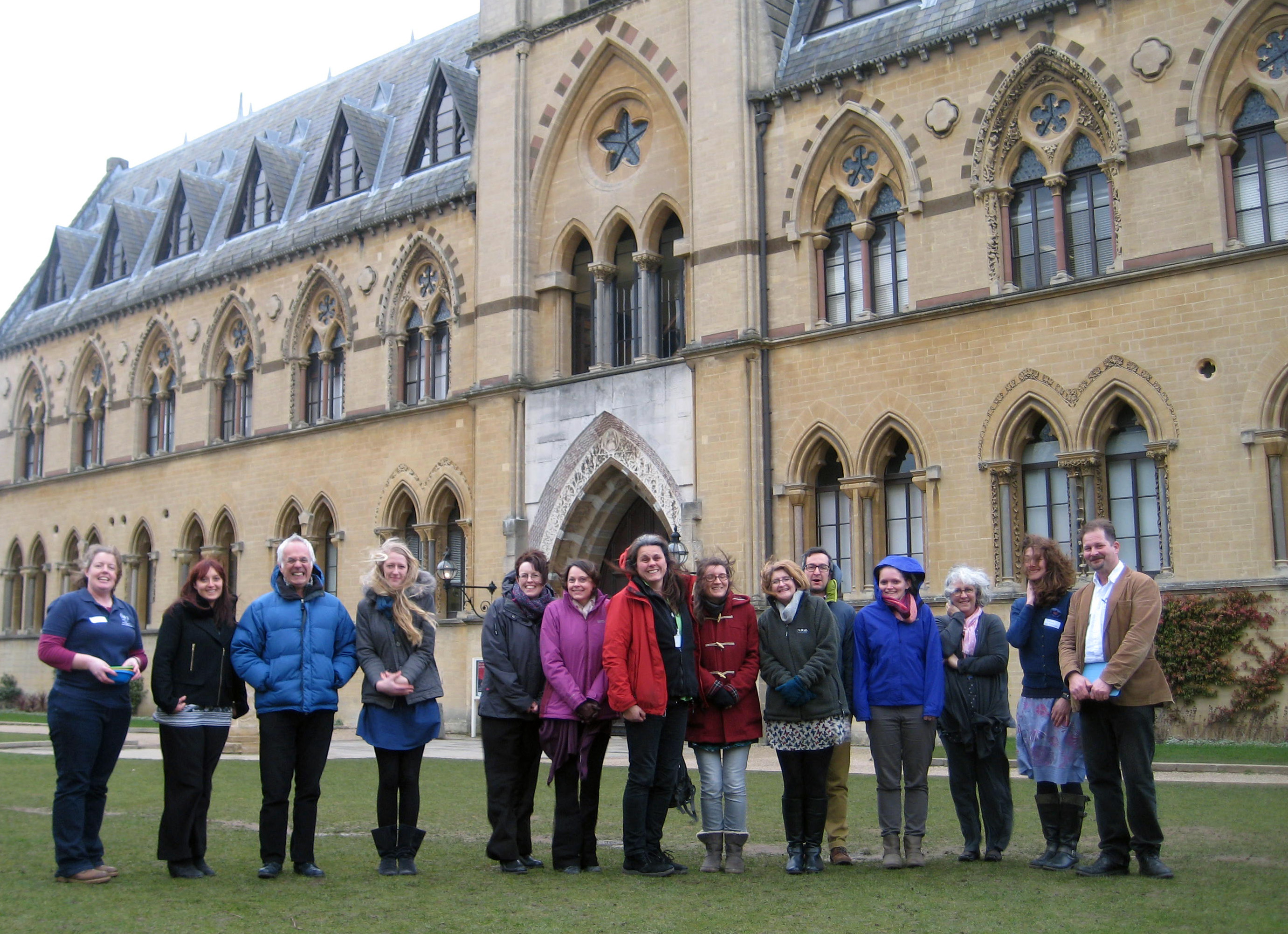 Education workshop team at Oxford University Museum of Natural History