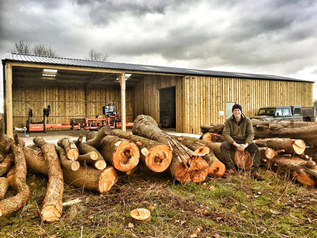 The Forestry Yard at the Sylva Wood Centre