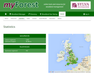 myForest tops 40000ha