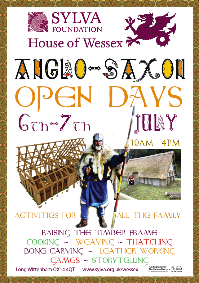 July House of Wessex open weekend poster