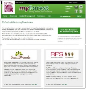 RFS & Small Woods  membership offers